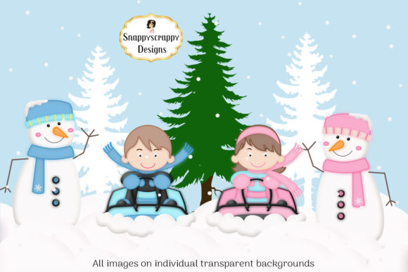 Christmas Fun Clipart Graphic By Snappyscrappy Image 3
