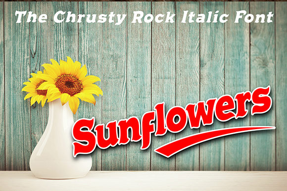 Chrusty Rock Font By Cove703 Image 3