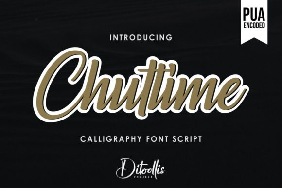 Print on Demand: Chuttime Script & Handwritten Font By Ditoollis Project