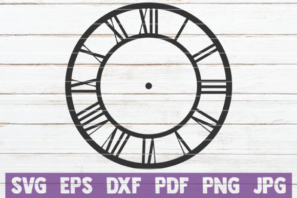 Clock Face SVG Bundle | SVG Cut Files Graphic Graphic Templates By MintyMarshmallows - Image 5