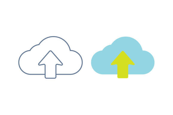 Cloud Line/Color Icon Graphic By DonMarciano