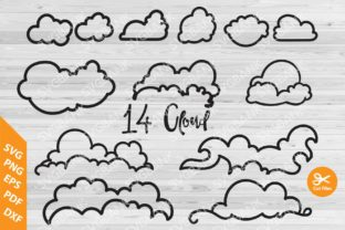 Clouds Set Graphic By svgBank