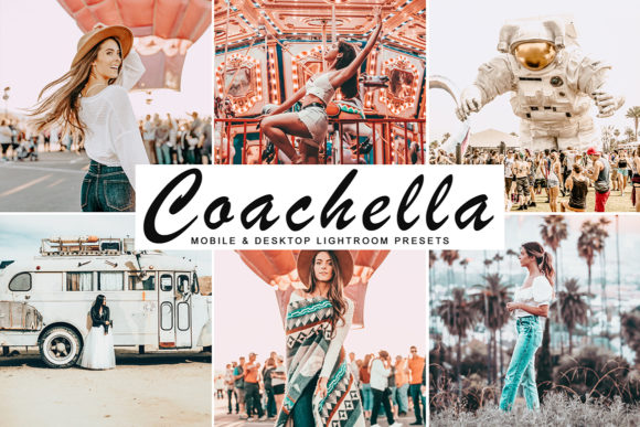 Coachella Lightroom Presets Pack Graphic By Creative Tacos