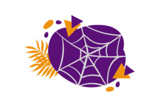Cobweb Abstract Print Art Style Halloween Craft Cut File By Creative Fabrica Crafts