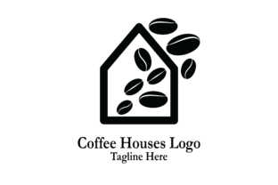 Download Free Coffee Houses Logo Vector Graphic By Yuhana Purwanti Creative for Cricut Explore, Silhouette and other cutting machines.