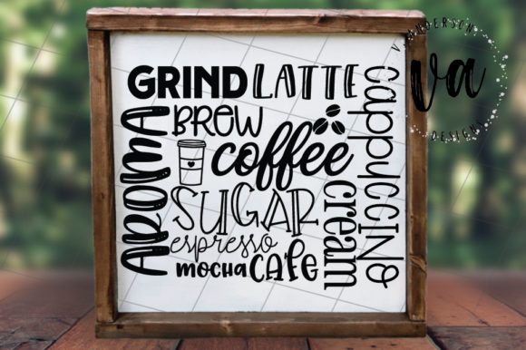 Download Free Coffee Subway Art Svg Graphic By Vandersondesigns Creative Fabrica SVG Cut Files