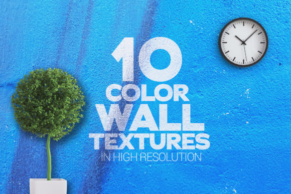 Color Wall Textures X 10 Graphic Textures By SmartDesigns - Image 1