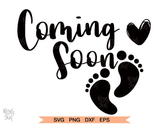 Print on Demand: Coming Soon Svg Cut Files Graphic Crafts By roxysvg26