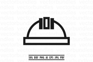 Download Free Construction Helmet Clip Art Graphic By Vectorbundles Creative for Cricut Explore, Silhouette and other cutting machines.