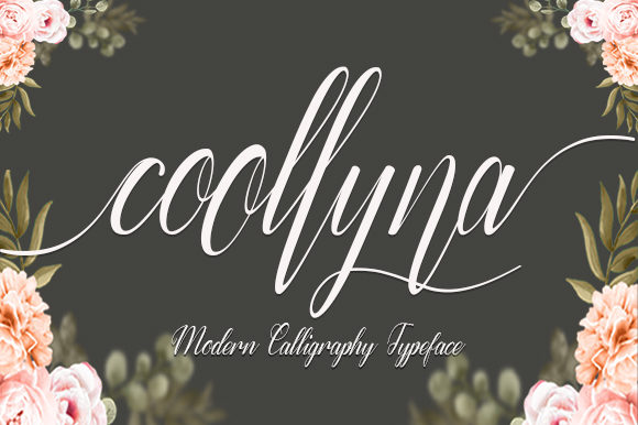 Print on Demand: Coollyna Script & Handwritten Font By utopiabrand19