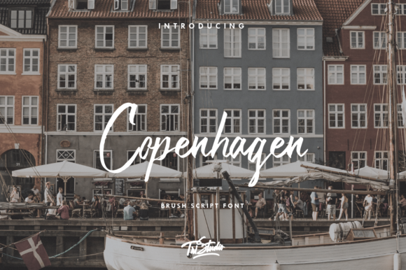 Print on Demand: Copenhagen Script & Handwritten Font By Yusuf Artworks