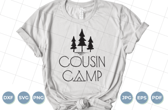 Cousin Camp Graphic Crafts By luxedesignartetsy