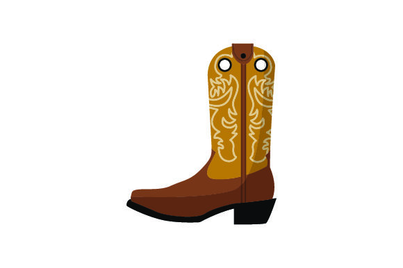 Cowboy Boot Cowgirl Craft Cut File By Creative Fabrica Crafts