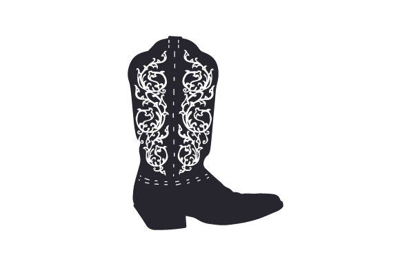 Download Free Cowboy Boot Svg Cut File By Creative Fabrica Crafts Creative for Cricut Explore, Silhouette and other cutting machines.