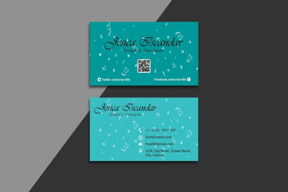 Creative Business Card Template Graphic By polahdesign