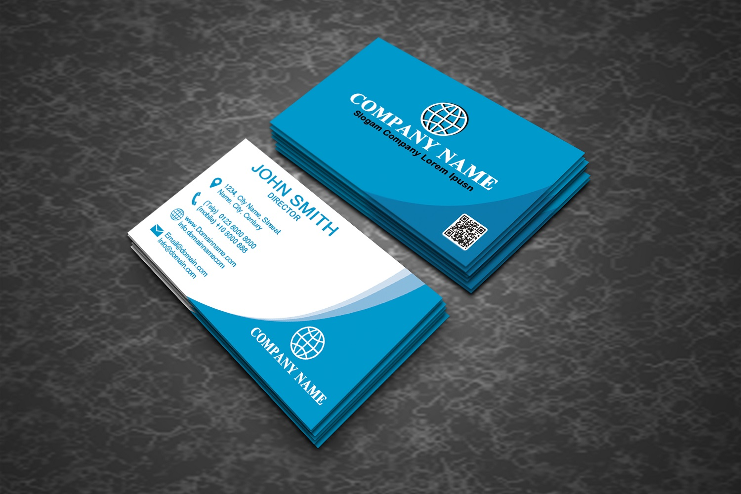 Creative Business Card Template Graphic by polahdesign ...