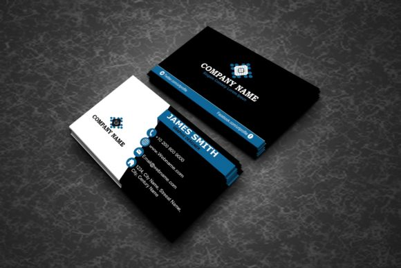 Creative Modern Business Cards Graphic By polahdesign