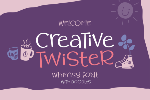 Print on Demand: Creative Twister Script & Handwritten Font By Situjuh
