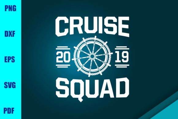 Cruise 2019 Squad Graphic Print Templates By BUMBLEBEESHOP