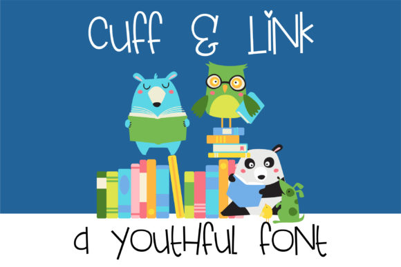 Print on Demand: Cuff and Link Script & Handwritten Font By Illustration Ink