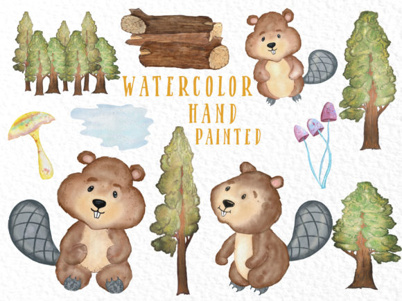 Cute Animals Woodland Animals Graphic Illustrations By vivastarkids - Image 4