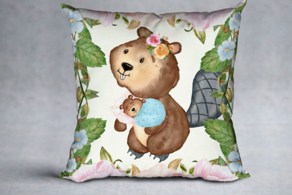 Cute Animals Woodland Animals Graphic Illustrations By vivastarkids - Image 7