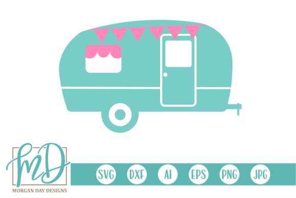 Print on Demand: Cute Camper Graphic Crafts By Morgan Day Designs
