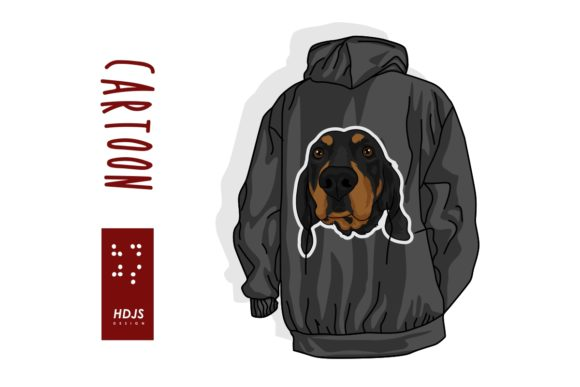 Cute Dog Graphic Illustrations By Hdjs.design