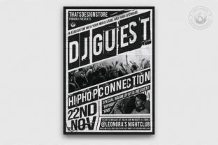 DJ Guest Flyer Template V2 Graphic By ThatsDesignStore