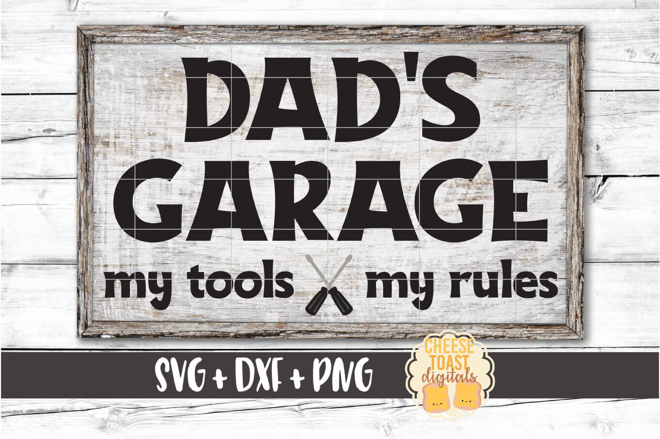 Dad S Garage My Tools My Rules Graphic By