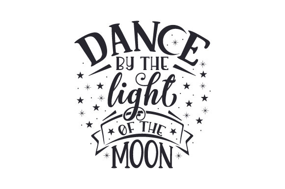 Download Free Dance By The Light Of The Moon Svg Cut File By Creative Fabrica for Cricut Explore, Silhouette and other cutting machines.
