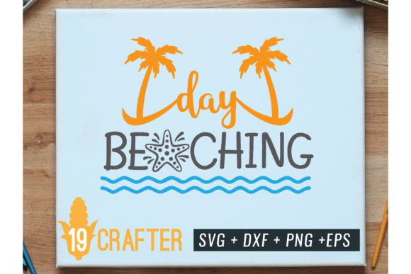 Print on Demand: Day Beaching Summer Printable Graphic Crafts By great19