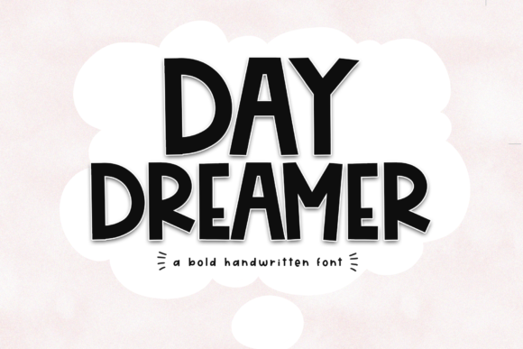 Print on Demand: Day Dreamer Display Font By KA Designs