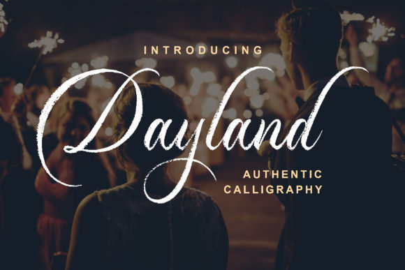 Print on Demand: Dayland Script & Handwritten Font By Blankids Studio