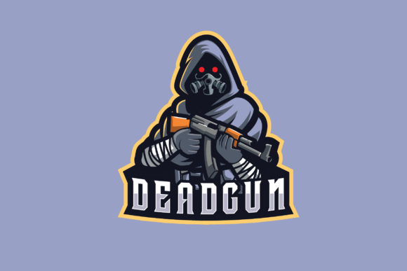 Print on Demand: Deadgun E-Sports Logo Graphic Logos By ovoz.graphics