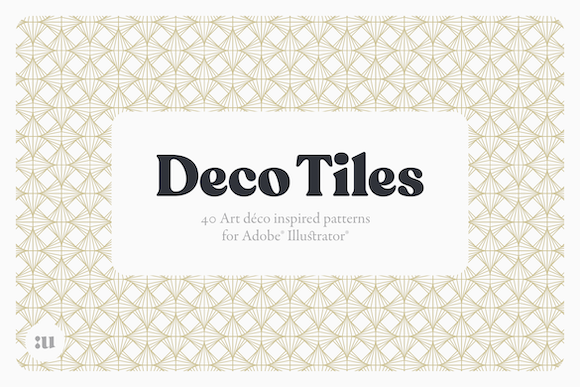 Deco Tiles Graphic Patterns By unio.creativesolutions