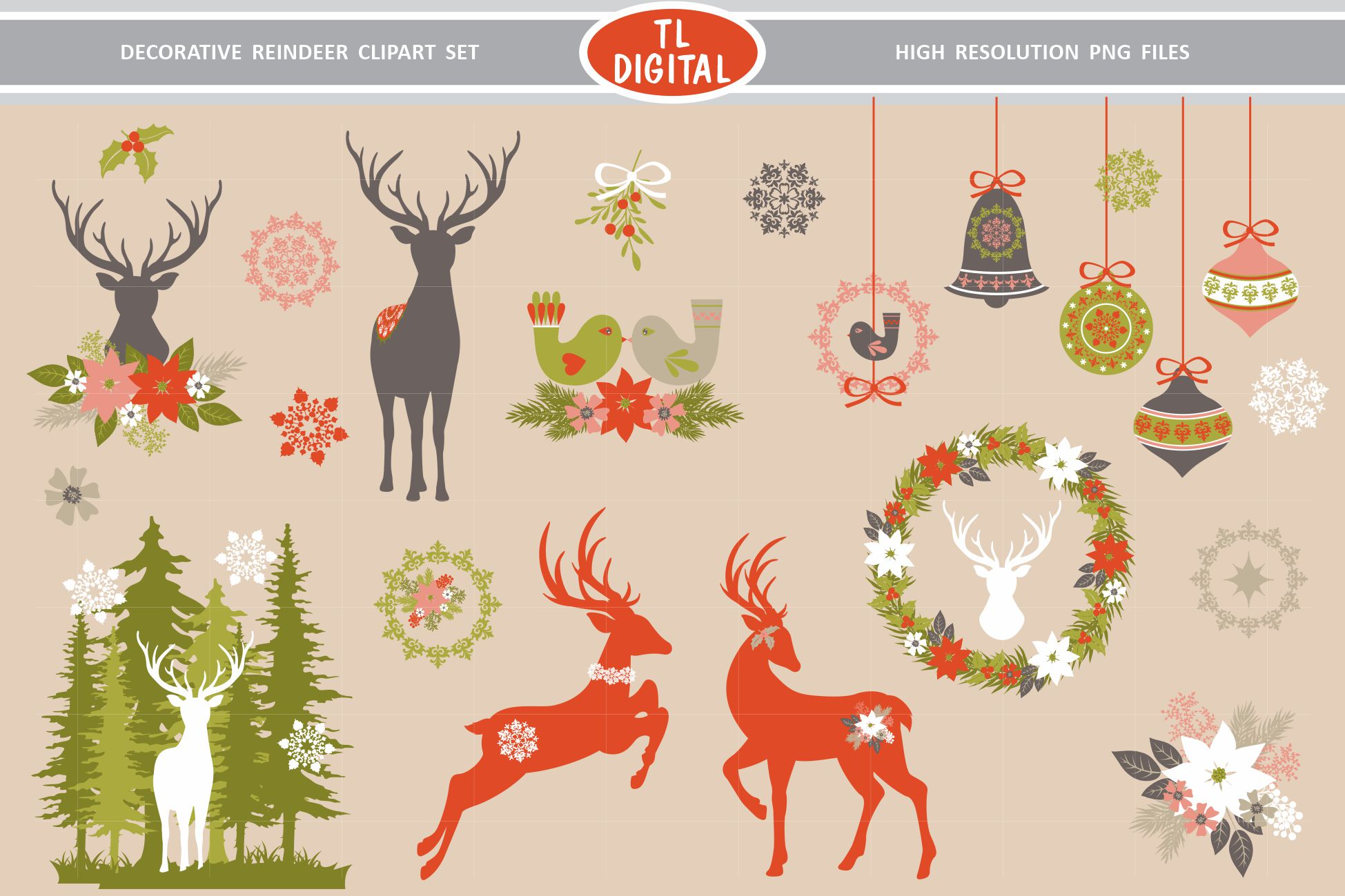 Free Images Reindeer, Download Free Clip Art, Free Clip Art on Clipart  Library