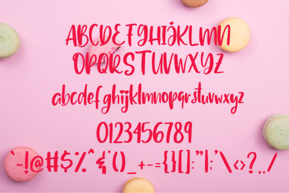 Print on Demand: Delighted Script & Handwritten Font By dmletter31 - Image 7