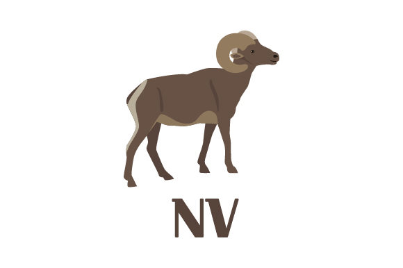 Download Free Desert Bighorn Sheep Nv Svg Cut File By Creative Fabrica Crafts for Cricut Explore, Silhouette and other cutting machines.