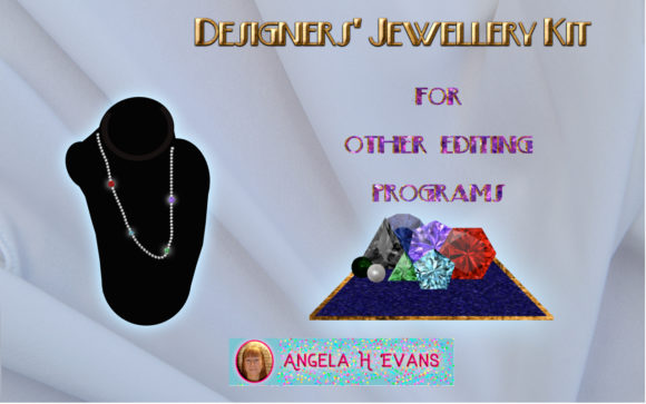 Print on Demand: Designer's Jewellery Kit Generic Grafik Texturen von Angela H. Evans