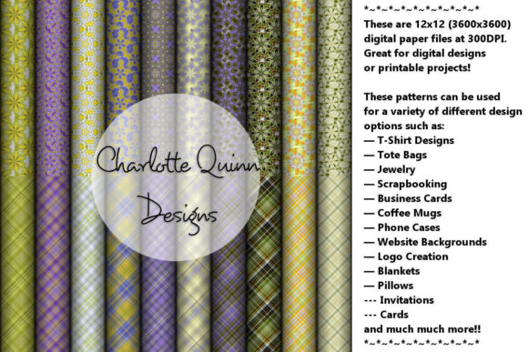 Print on Demand: Digital Papers 172 Graphic Patterns By Digital Pattern Club