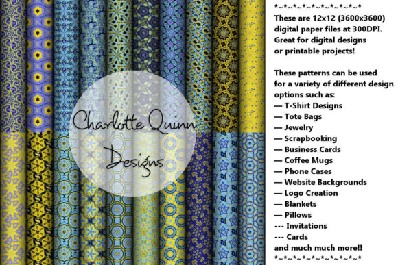 Print on Demand: Digital Papers 178 Graphic Patterns By Digital Pattern Club