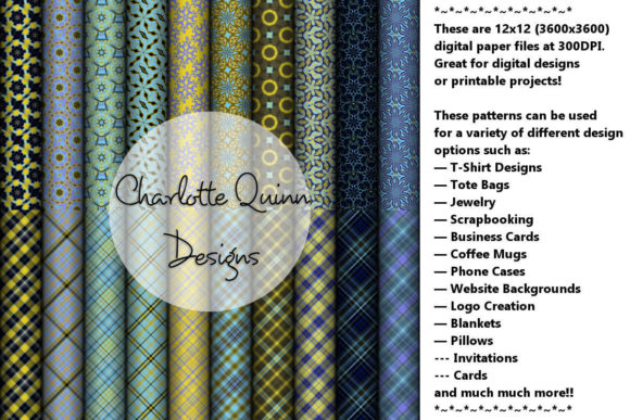 Print on Demand: Digital Papers 182 Graphic Patterns By Digital Pattern Club