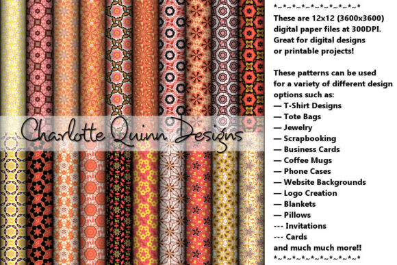 Print on Demand: Digital Papers 185 Graphic Patterns By Digital Pattern Club