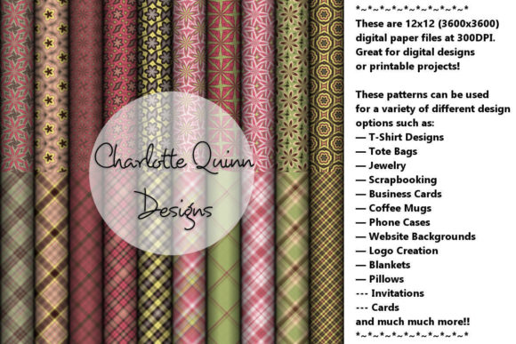 Print on Demand: Digital Papers 191 Graphic Patterns By Digital Pattern Club