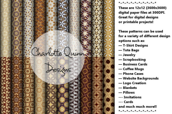Print on Demand: Digital Papers 192 Graphic Patterns By Digital Pattern Club