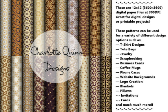 Print on Demand: Digital Papers 193 Graphic Patterns By Digital Pattern Club