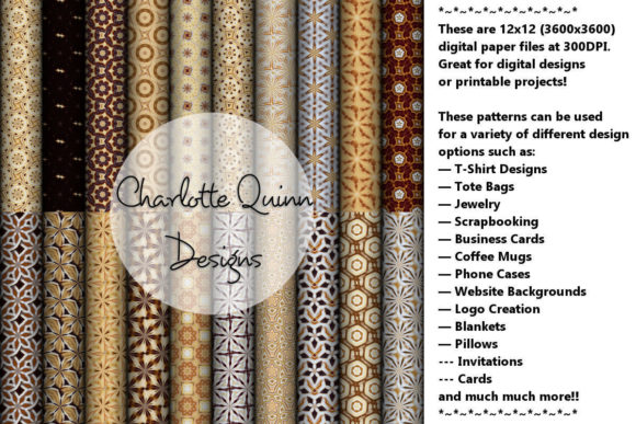 Print on Demand: Digital Papers 194 Graphic Patterns By Digital Pattern Club