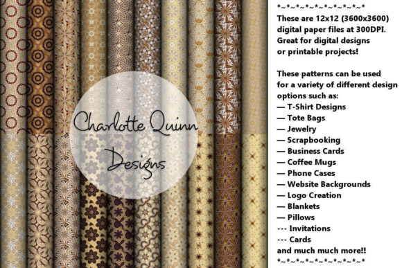 Print on Demand: Digital Papers 196 Graphic Patterns By Digital Pattern Club