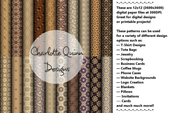 Print on Demand: Digital Papers 197 Graphic Patterns By Digital Pattern Club